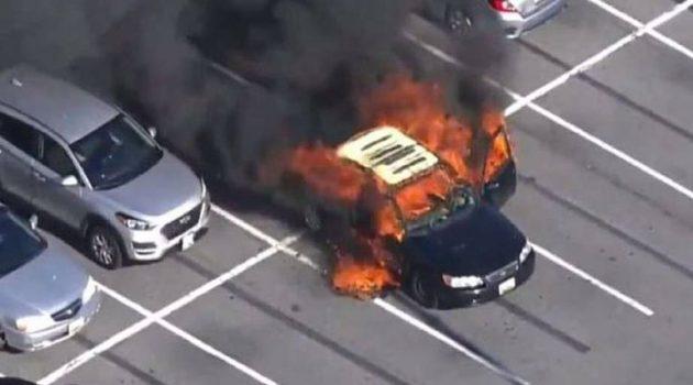 Η.Π.Α.: Αυτοκίνητο τυλίχθηκε στις φλόγες εξαιτίας αντισηπτικού