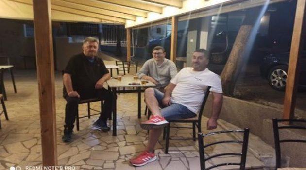 Επίσκεψη του Δημάρχου Ξηρομέρου στο Μπαμπίνη