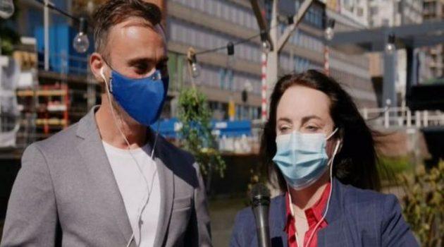 Eurovision 2021: Κοζάκου και Καπουτζίδης λίγο πριν τον Α' Ημιτελικό (Video)
