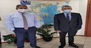 Συναντήσεις Κ. Καραγκούνη με Καρβέλη και Μπάκο (Photo)