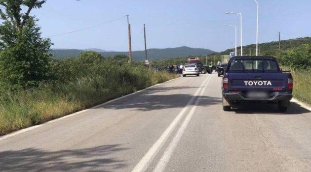 Βόνιτσα: Πλαγιομετωπική σύγκρουση μηχανής με αγροτικό με έναν τραυματία