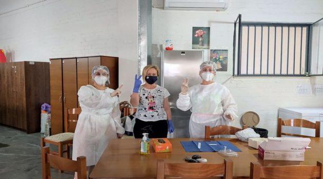 Αγρίνιο: Rapid Tests στον Ξενώνα Κακοποιημένων Γυναικών από το Κοινωνικό Ιατρείο
