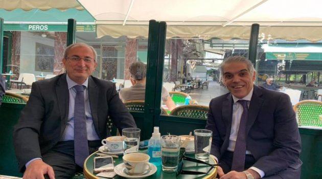 Ο… «Πρωινός καφές» του Δημάρχου Θέρμου Σπύρου Κωνσταντάρα