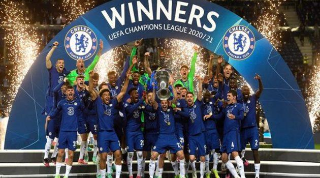 Σήκωσαν το δεύτερο Champions League οι παίχτες της Τσέλσι!