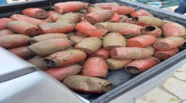 Λιμεναρχείο: Παράνομες παγίδες για χταπόδια κατασχέθηκαν στο Κρυονέρι (Photo)