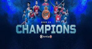 Η Μονακό πανηγύρισε την πρώτη κατάκτηση του EuroCup στην ιστορία…