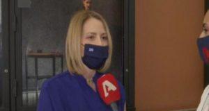Τζένη Μπαλατσινού: «Ο Βασίλης βοηθάει πολύ, είναι εξαιρετικός στην αλλαγή…