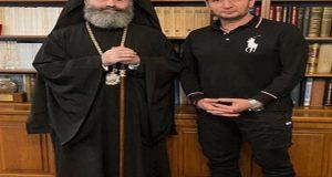 Ο Δημήτρης Μπάσης στην Ιερά Αρχιεπισκοπή Αυστραλίας