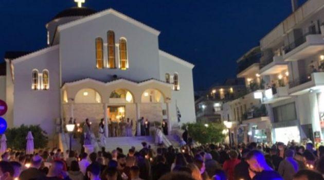 Ναύπακτος: Ανάσταση στην Αγία Παρασκευή (Video – Photos)