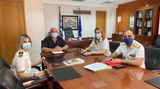 Ναύπακτος – Β. Γκίζας: «Συντονίζουμε εγκαίρως τις ενέργειές μας για τη θερινή περίοδο»