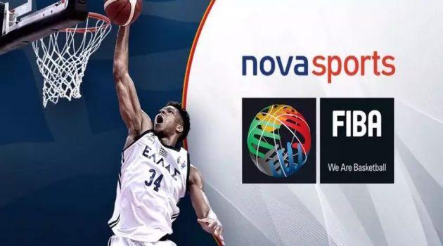 Στη Nova «μετακομίζουν» η Εθνική Μπάσκετ, το Ευρωμπάσκετ και το Μουντομπάσκετ