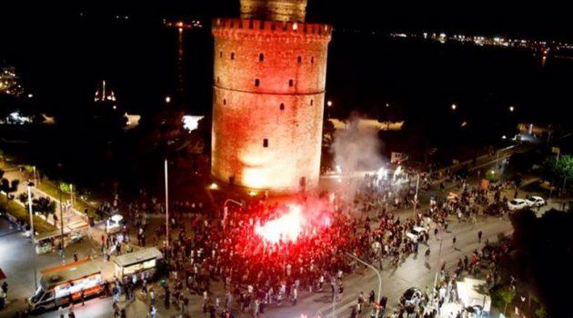 «Καίγεται» η Θεσσαλονίκη για τον Κυπελλούχο Π.Α.Ο.Κ. (Video – Photos)