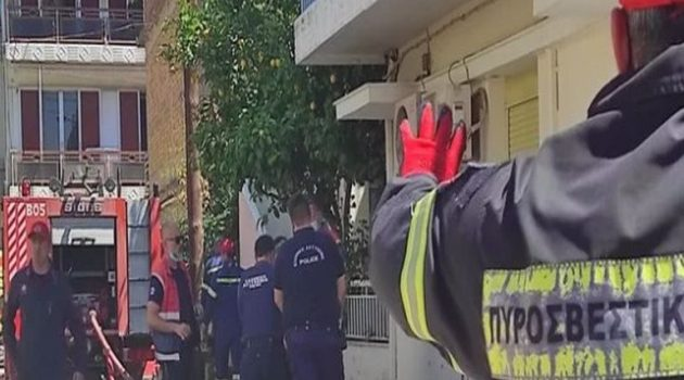 Πάτρα: Νεκρή γυναίκα μετά από φωτιά σε διαμέρισμα (Videos)