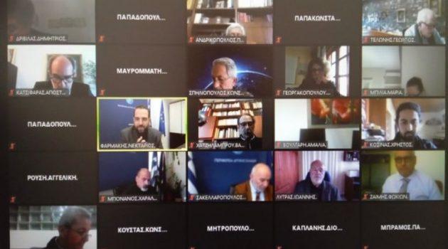 Live η συνεδρίαση του Περ. Συμβουλίου για τα Πανεπιστημιακά Τμήματα της Αιτωλ/νίας