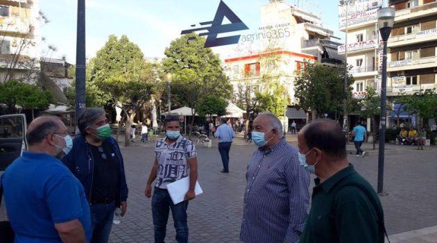 Αγρίνιο: Συλλαλητήριο του Ε.Κ. ενάντια στο νομοσχέδιο των εργασιακών (Photos)