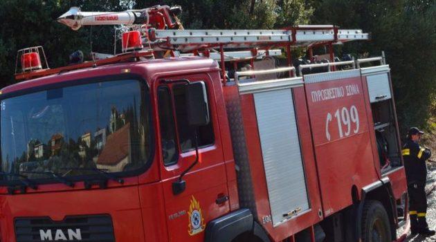 Τρίκορφο Ναυπακτίας: Κινητοποίηση της Π.Υ. για πυρκαγιά (Video – Photo)