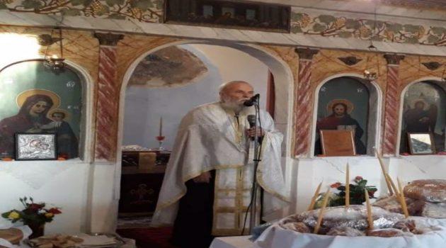 Πάτερ Φώτιος Σαράκης: Ακούραστος εργάτης της Εκκλησίας