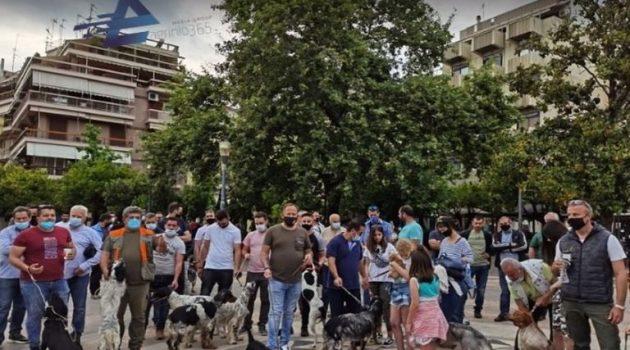 Αγρίνιο: Συγκέντρωση διαμαρτυρίας των Κυνοφίλων Αιτωλ/νίας (Videos – Photos)