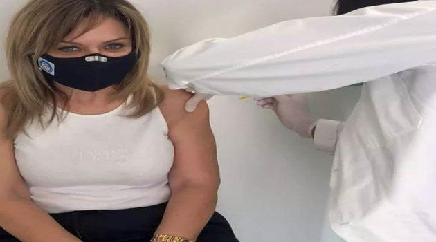 Το μήνυμα της Χριστίνας Σταρακά για τον εμβολιασμό