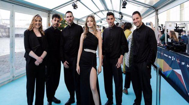 Eurovision 2021 – Ελλάδα: Μάγεψε η Stefania στο Turquoise Carpet! (Photos)