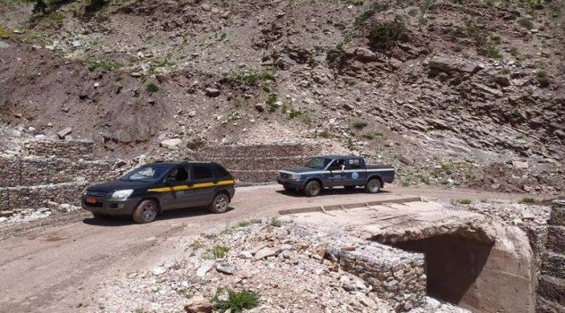 Δήμος Θέρμου: Επίβλεψη του ορεινού δικτύου από την Ε.Α.Γ.Μ.Ε. (Photos)