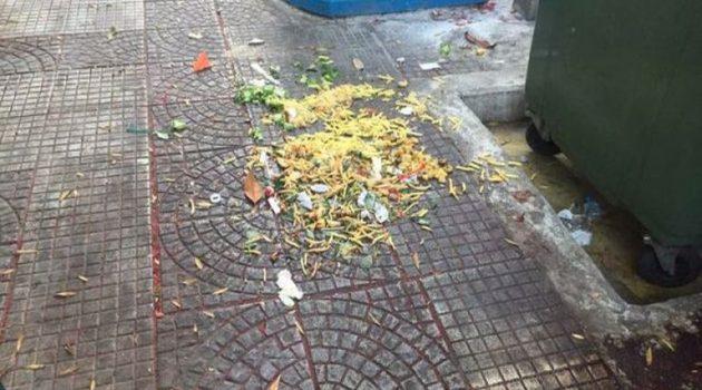Αγρίνιο: Τριτοκοσμικές εικόνες από το κέντρο της πόλης