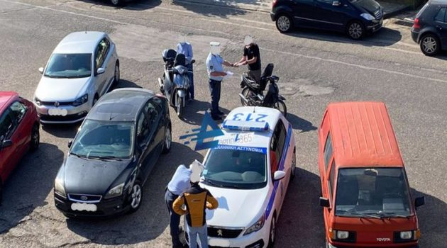 Αγρίνιο: Συνεχή «μπλόκα» της τροχαίας για την ασφάλεια των οδηγών στο κέντρο της πόλης (Photos)