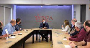 Ο Αλέξης Τσίπρας σε τηλεδιάσκεψη με τη Διδασκαλική Ομοσπονδία Ελλάδας