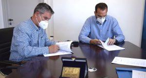 Υπογραφή σύμβασης εργασιών στο Εθνικό Οδικό Δίκτυο της Περιφέρειας Δυτικής…