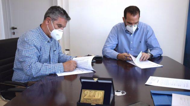 Υπογραφή σύμβασης εργασιών στο Εθνικό Οδικό Δίκτυο της Περιφέρειας Δυτικής Ελλάδας