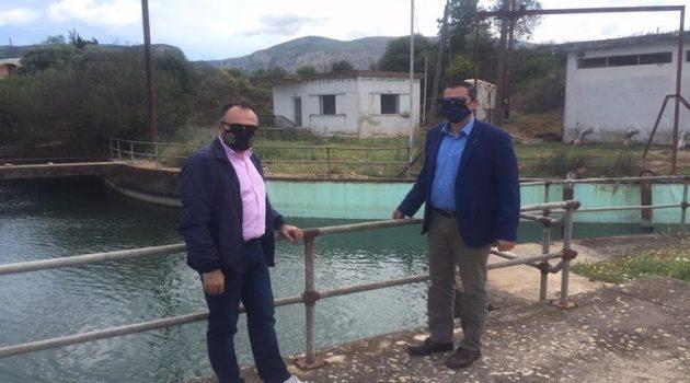 Αιτωλοακαρνανία: Συνάντηση Βασιλόπουλου – Βήττα για αρδευτικά ζητήματα