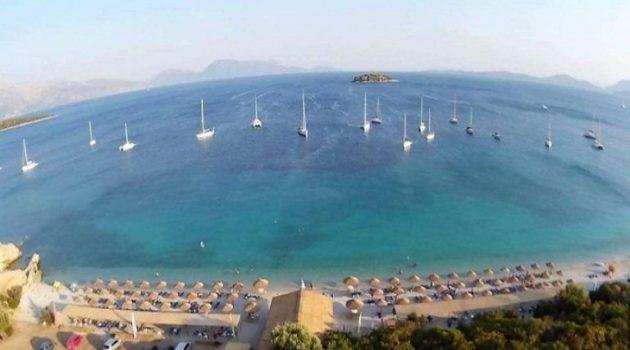 Σε λίγες μέρες όλα έτοιμα στην καλύτερη παραλία της Αιτωλ/νίας «Βαθυαβάλι» Πογωνιάς (Video)
