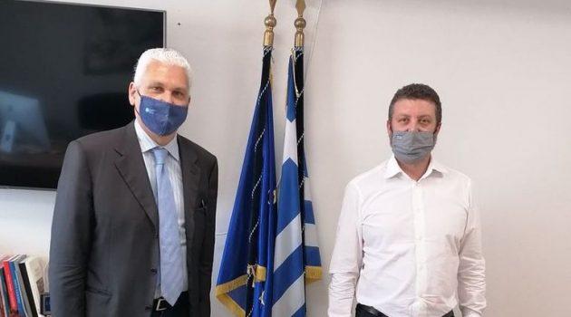Φ. Ζαΐμης: «Η Περιφέρεια Δ. Ελλάδας θέλει να ενισχύσει τη δομή για την υποστήριξη παραγωγών»