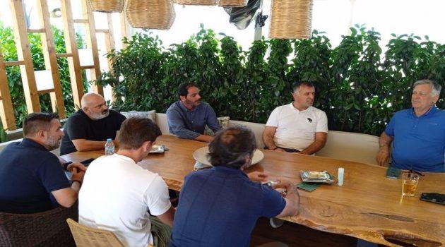 Αγρίνιο: Έφτασε ο Αναστασίου – Συζητήσεις με την Διοίκηση