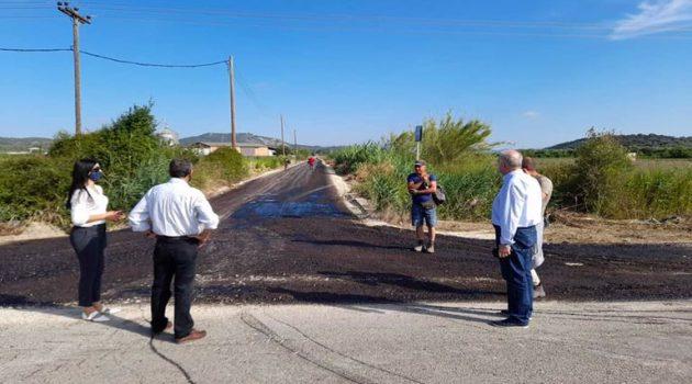 Κατοχή: Εργασίες ασφαλτόστρωσης από τον Δήμο Ι.Π. Μεσολογγίου (Photos)