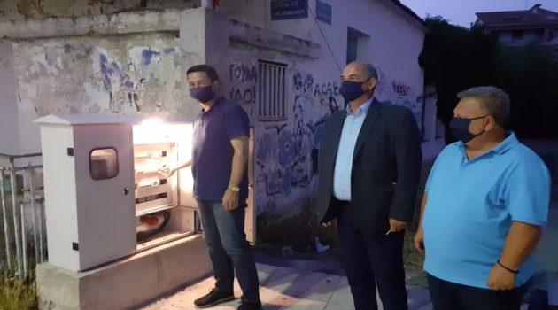 Αγρίνιο: Σύγχρονο δίκτυο ηλεκτροφωτισμού στον Άγιο Κωνσταντίνο (Photos)