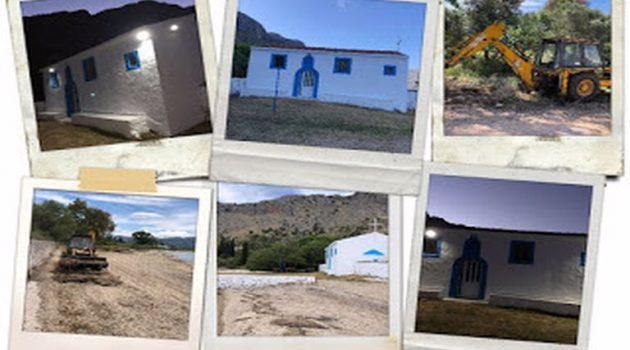I.N. Αγίας Τριάδας Μύτικα: Οι κάτοικοι βελτίωσαν την όψη του