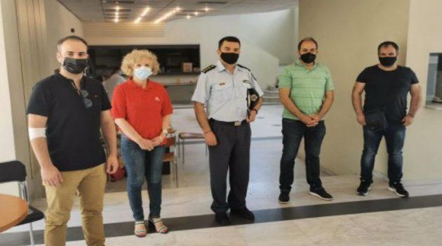 Η Ένωση Αστυνομικών Υπαλλήλων Ακαρνανίας για την Εθελοντική Αιμοδοσία