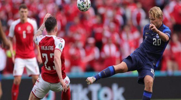 Euro 2020: Διακοπή στο Δανία – Φινλανδία