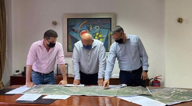 Β. Γκίζας: «Δρομολογούμε ένα έργο σταθμό για την ανάπτυξη της Ναυπακτίας» (Χάρτης)