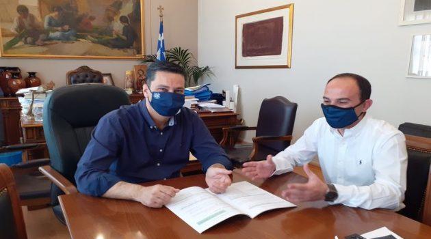 Αγρίνιο: Δημητρογιάννης και Παπαναστασίου για την Κλιματική Αλλαγή – Παρουσίαση του Σχεδίου
