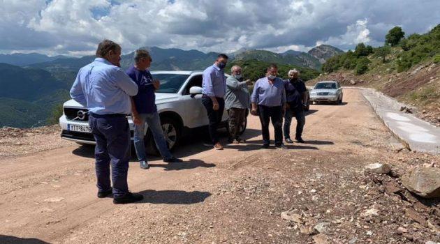 Αιτωλ/νία: Αυτοψία σε έργο ασφαλτόστρωσης δρόμου μεταξύ δυο Κοινοτήτων (Photos)