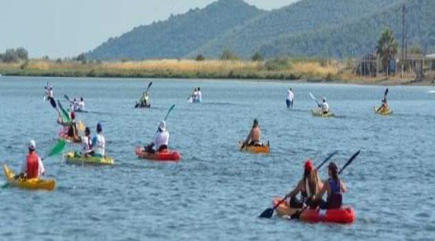 Αιτωλικό: 6ος Μαραθώνιος Κανόε Καγιάκ και SUP λιμνοθάλασσας
