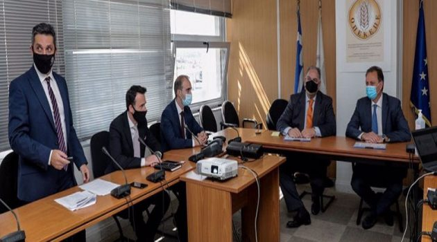 Επίσκεψη Σπ. Λιβανού στον Ο.Π.Ε.Κ.Ε.Π.Ε.