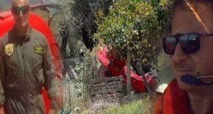 Πτώση αεροσκάφους στην Ηλεία: Από Μεσολόγγι ο ένας νεκρός