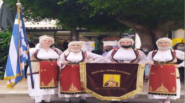 Tο Χορευτικό τμήμα Καλυβίων στην επέτειο απελευθέρωσης του Βραχωρίου (Photos)