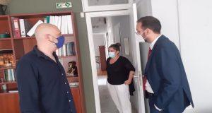 Αγρίνιο – Ν. Φαρμάκης: «Συμβάλλουμε εμπράκτως στη βελτίωση των υπηρεσιών…