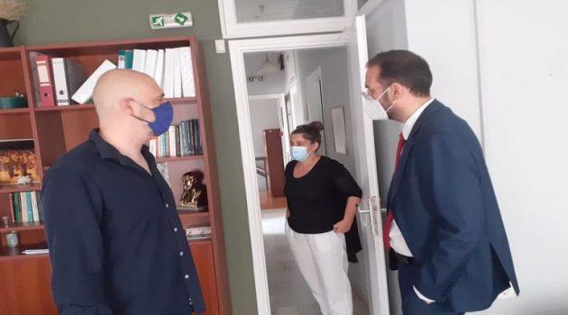 Αγρίνιο – Ν. Φαρμάκης: «Συμβάλλουμε εμπράκτως στη βελτίωση των υπηρεσιών υγείας»
