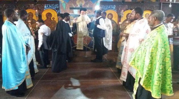Κουρά Μοναχού στον Παλαιό Ιερό Ναό Αγίου Ανδρέα Κανάγκας (Photos)