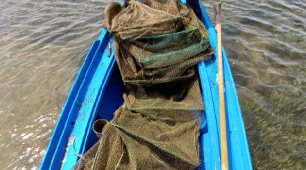 Παράνομα αλιευτικά εντόπισε το Λιμενικό στo Διόνη Κατοχής (Photo)
